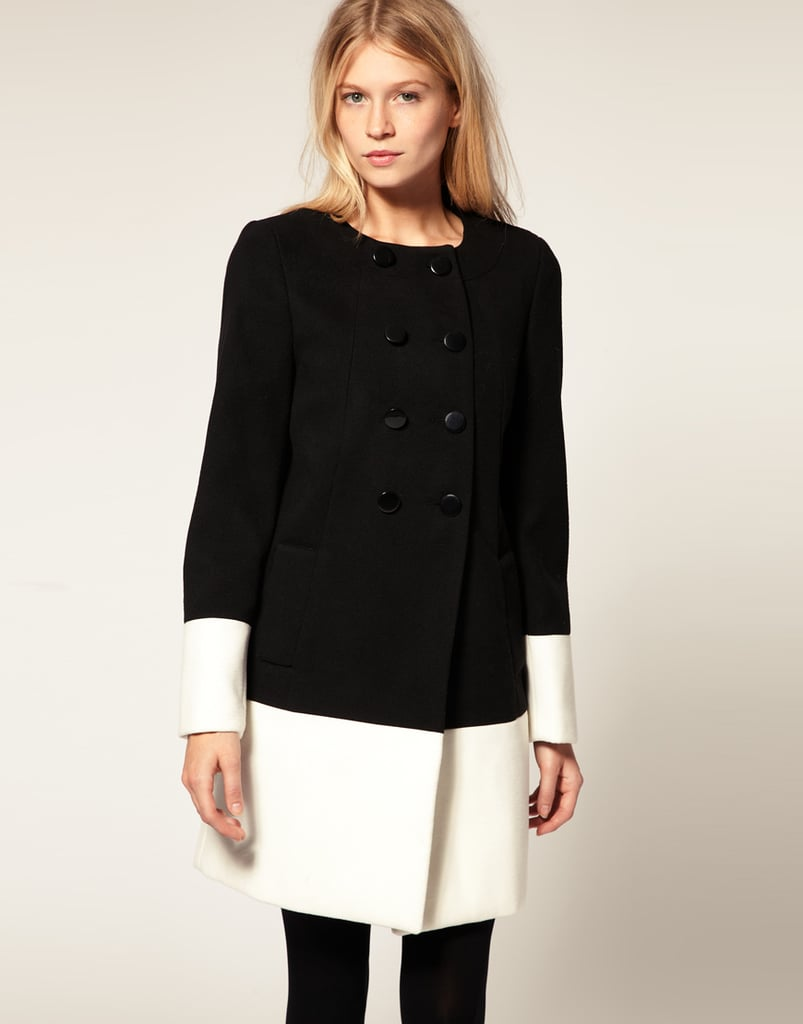 Oasis block coat ($128, originally $197)