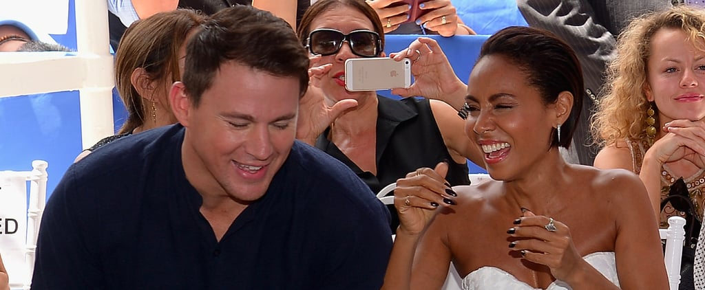 Channing Tatum and Jada Pinkett Smith Miami Hall of Fame