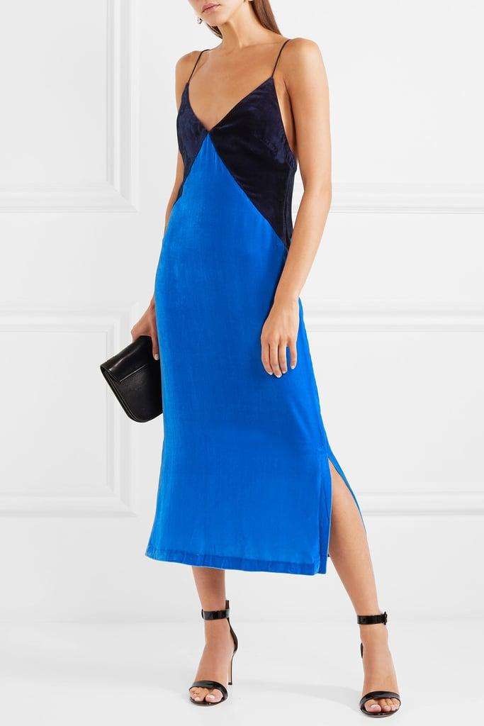 Dion Lee Velvet Slip Dress