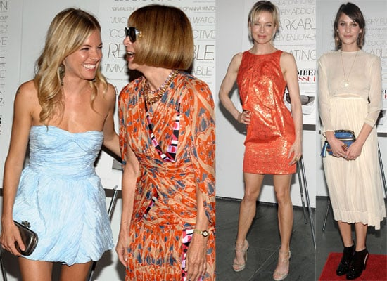 Photos Of Sienna Miller, Alexa Chung, Anna Wintour, Renee Zellweger At The September Issue Screening