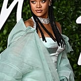 Rihanna at the 2019 British Fashion Awards
