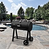Heavy-Duty Barrel Charcoal Grill