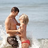 Julianne cuddled up with her costar Josh Duhamel in Safe Haven.
