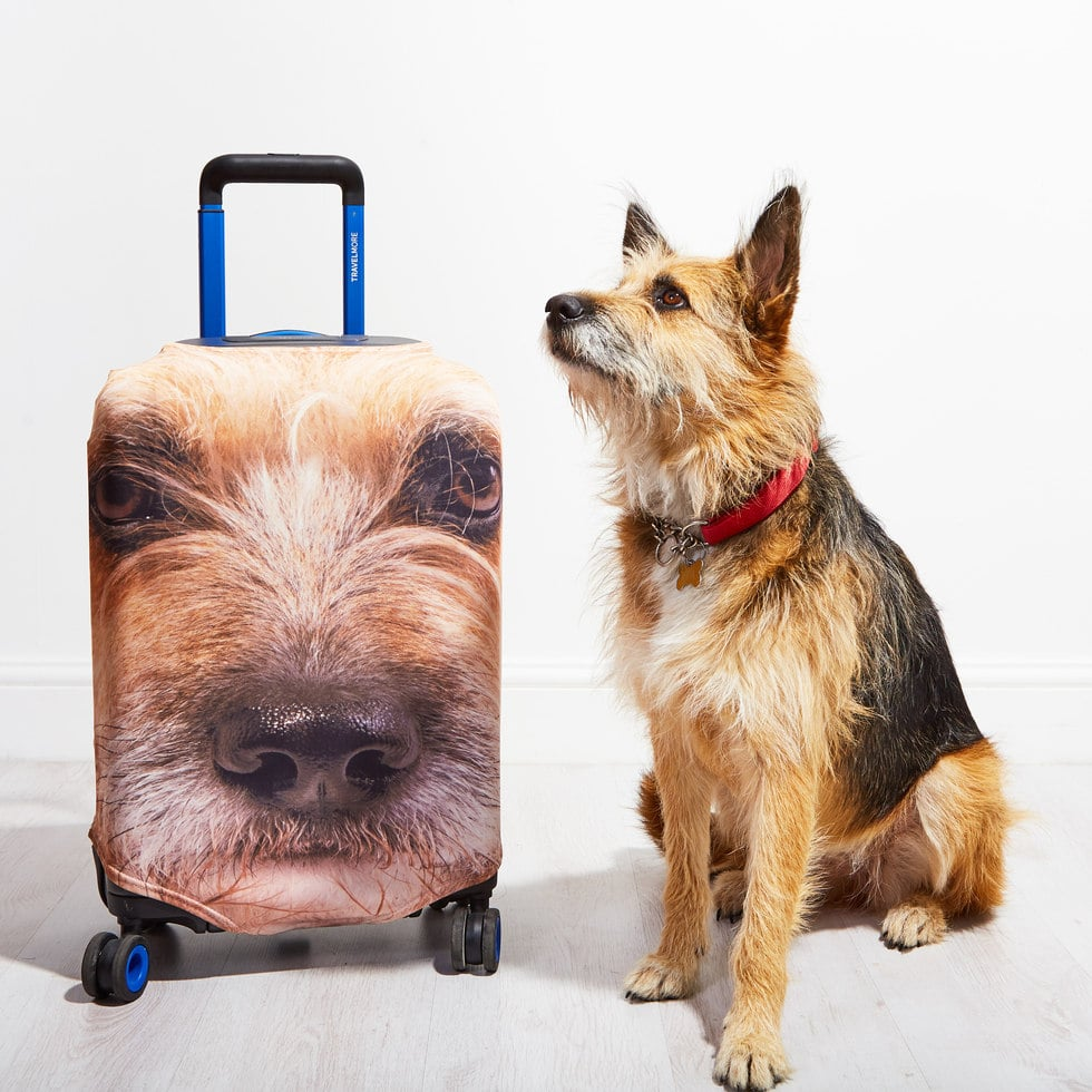 0d192707b Pet Head Case | Personalized Dog and Cat Suitcase Covers | POPSUGAR ...