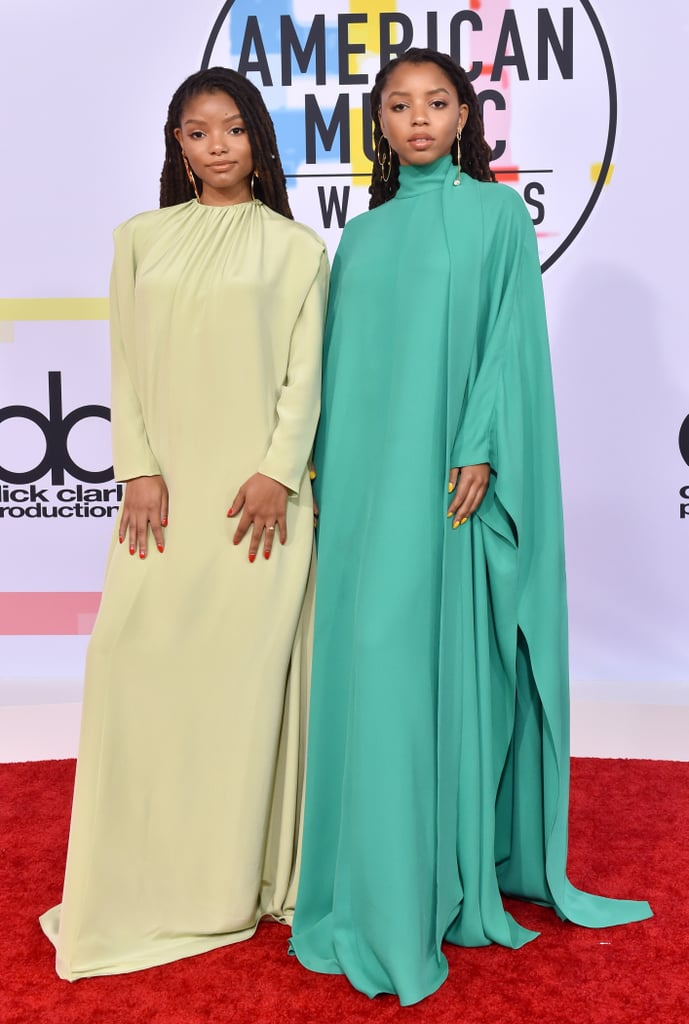 Chloe x Halle Wearing Valentino at the 2018 American Music Awards