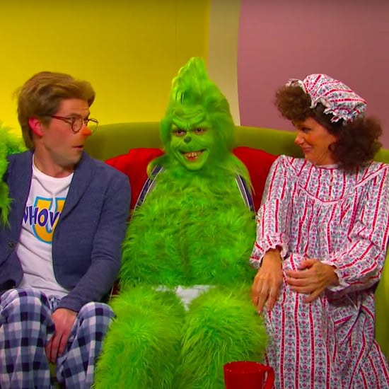 Watch Pete Davidson as the Grinch in an SNL Skit