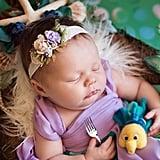 Photo Shoot of Babies as Disney Princesses