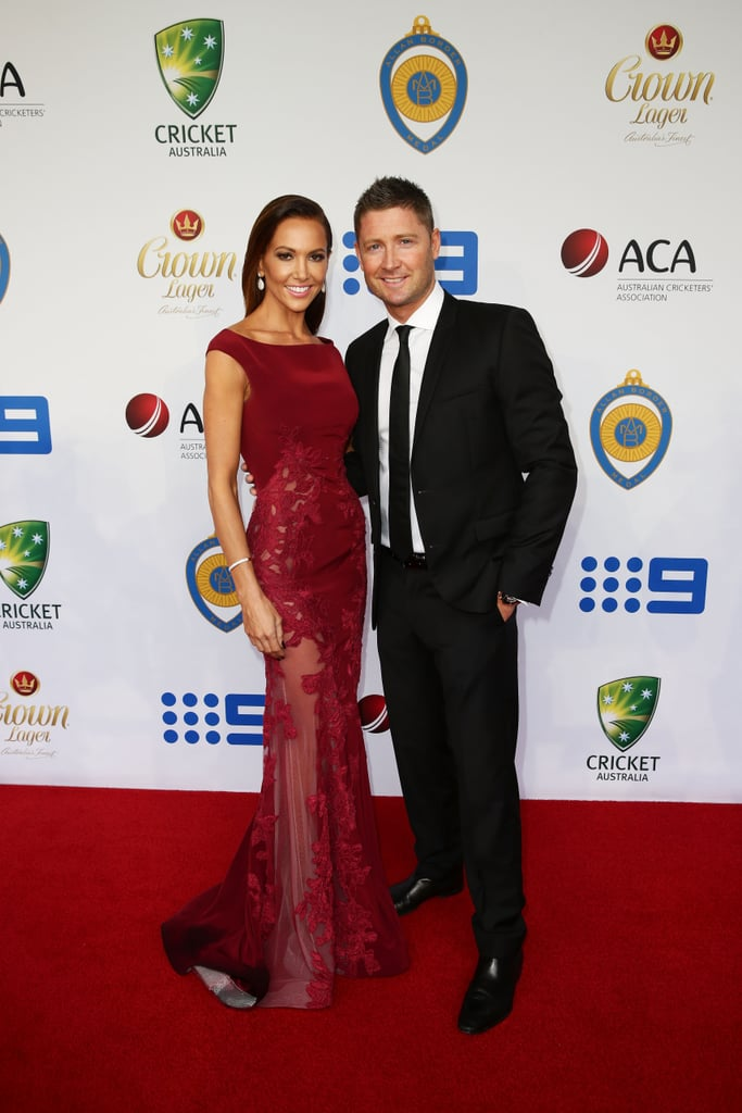 Kyly and Michael Clarke