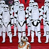 28 Star Wars Premiere Photos That Will Make You Scream Like a Porg