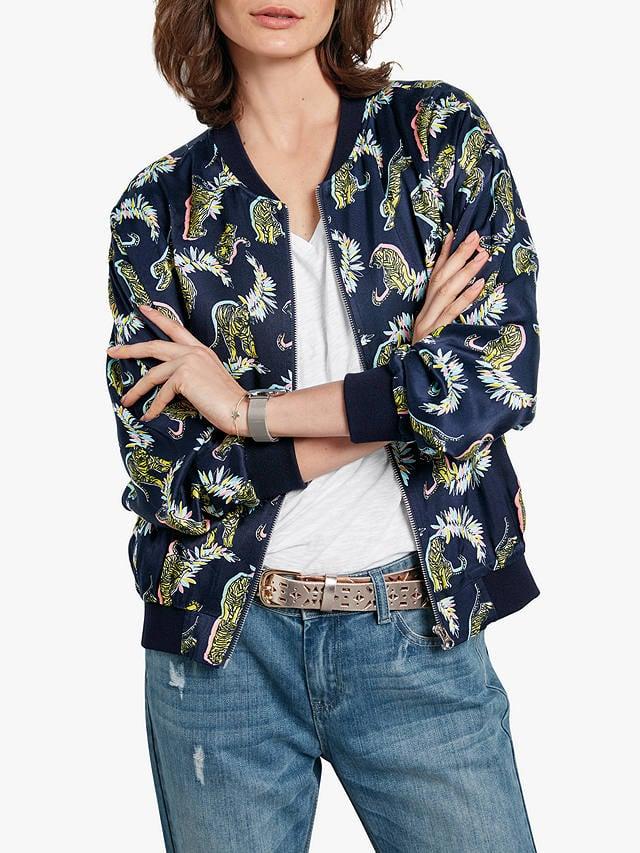 005bb66c9054 Hush Tiger Print Bomber Jacket | Summer Jackets 2019 | POPSUGAR ...