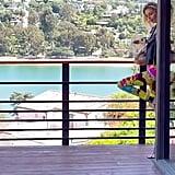 Stella Maxwell's Wraparound Deck