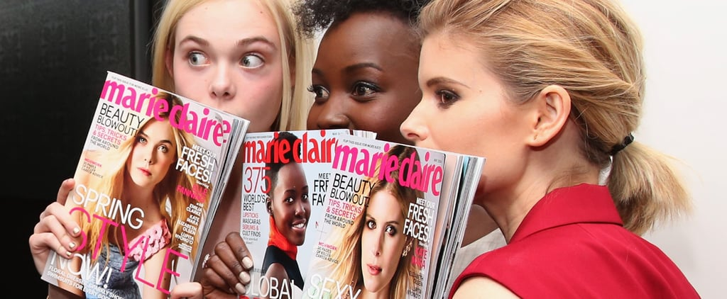 Lupita Nyong'o in Marie Claire Fresh Faces 2014 | Video