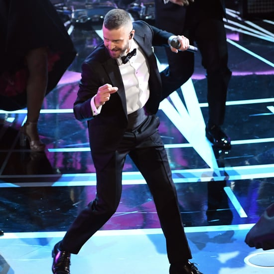 Justin Timberlake Dancing With Celebrities at 2017 Oscars