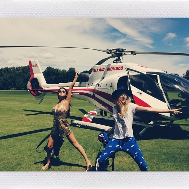 Selena Gomez geared up for her big birthday vacation with Cara Delevingne. Source: Instagram user selenagomez