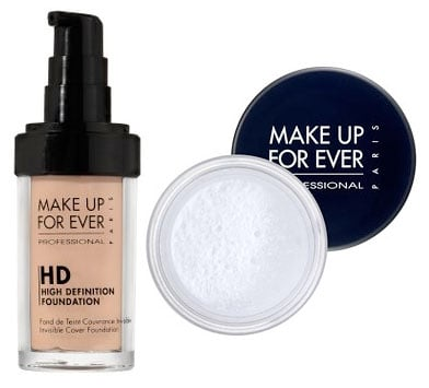 Tuesday Giveaway! Make Up Forever HD Invisible Cover Foundation and HD Microfinish Powder