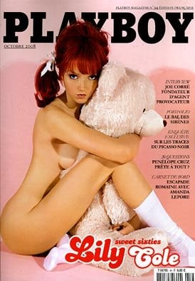 Fab Cover: Lily Cole for Playboy