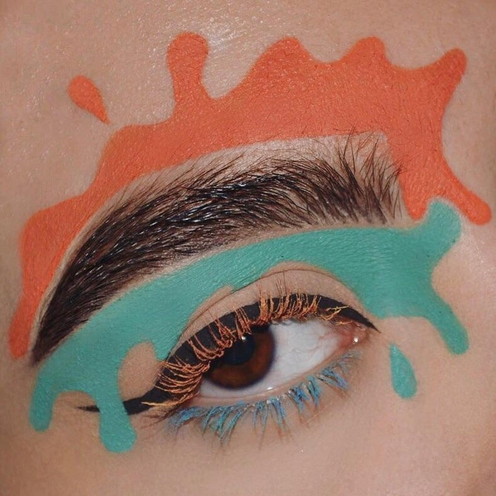 Nickelodeon Slime Brows on Instagram