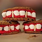 Vampire Fang Cookies