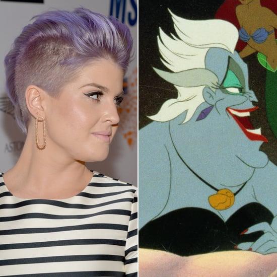 Does Kelly Osbourne Look Like Ursula From The Little Mermaid?
