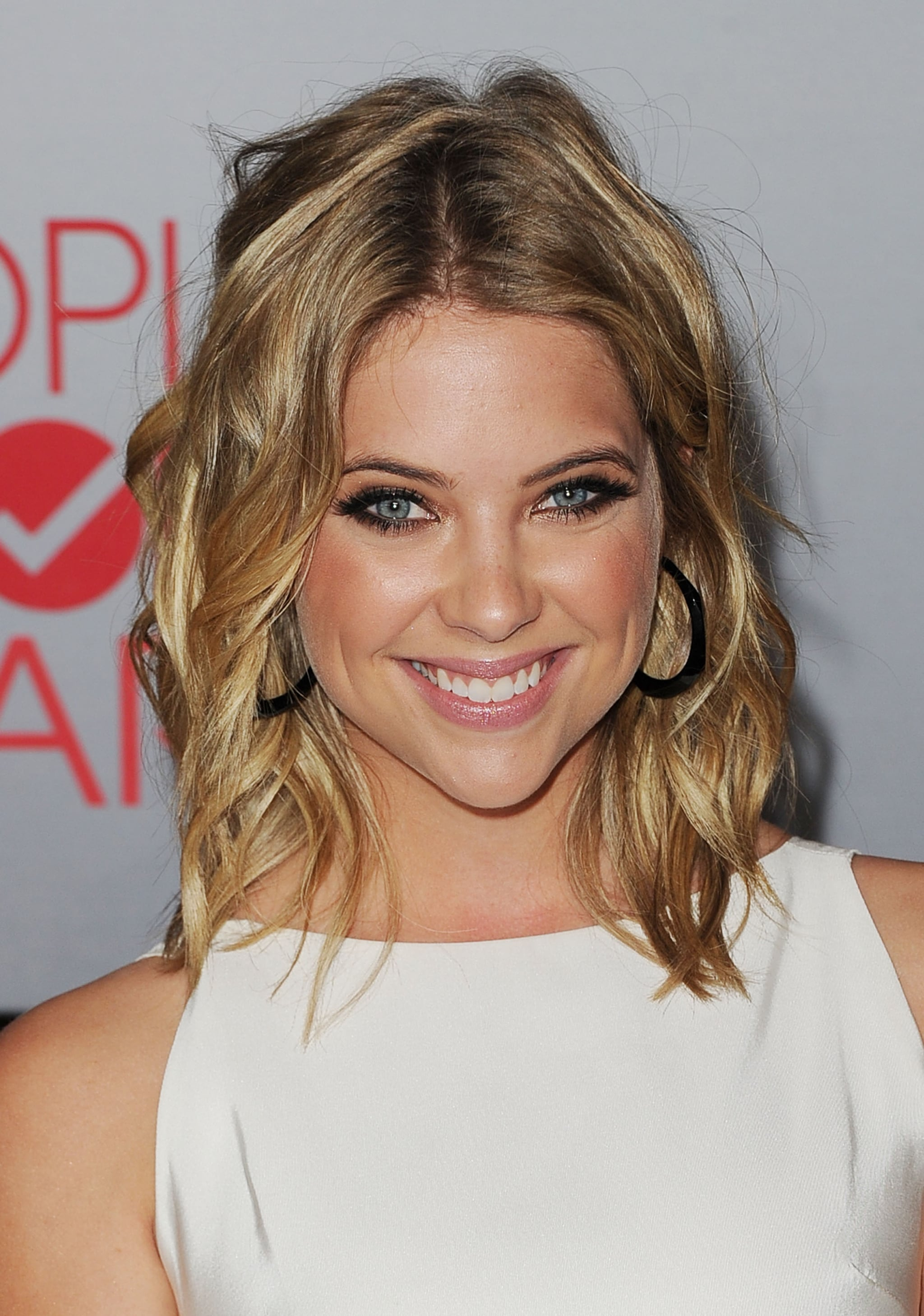 Ashley Benson was happy at the People's Choice Awards.