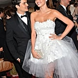 Orlando Bloom and Miranda Kerr in 2011