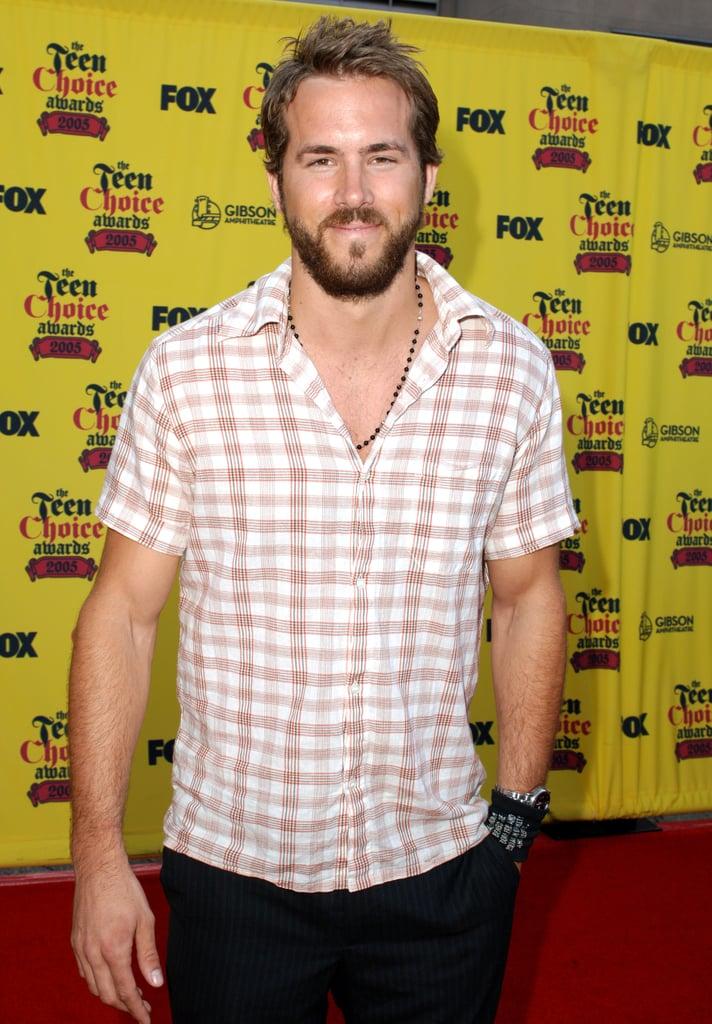 Ryan Reynolds Rocked a Beard