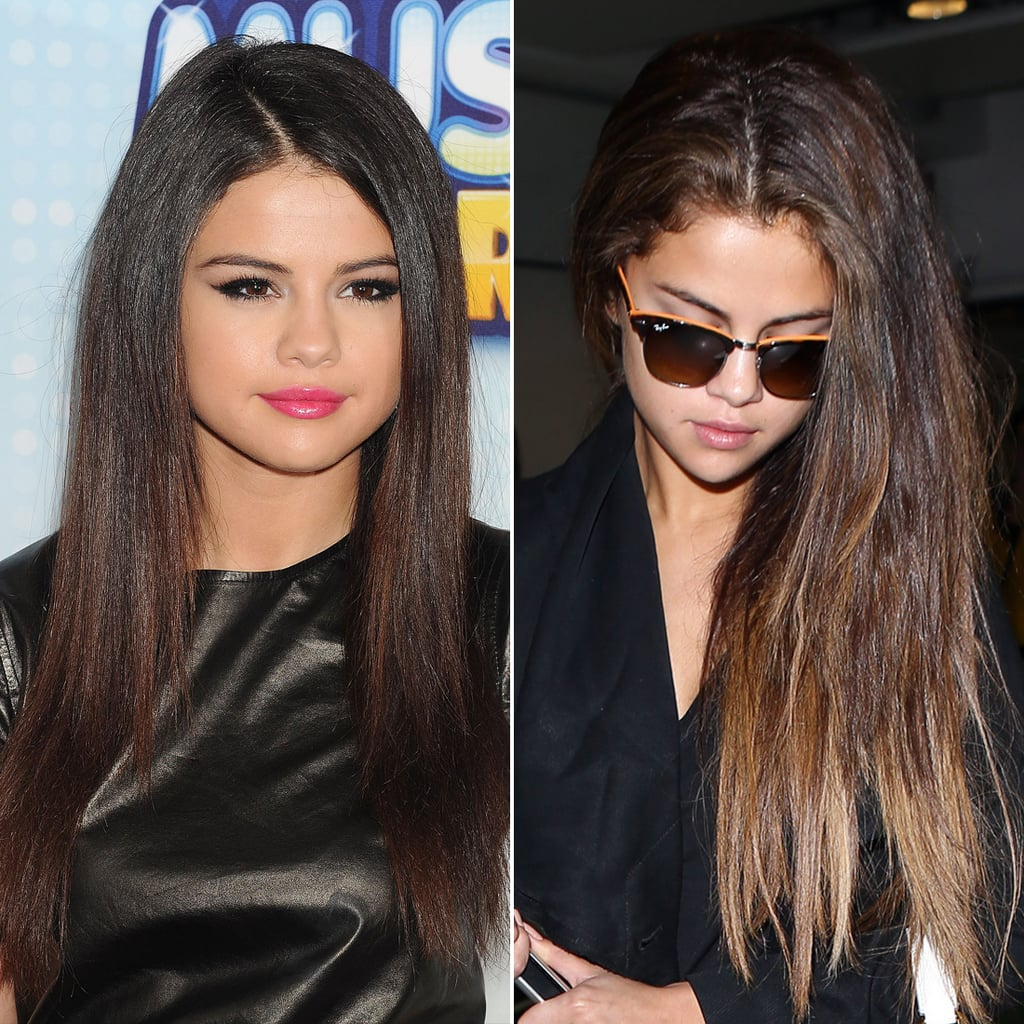 Selena Gomez Celebrities Who Have Changed Their Hairstyles