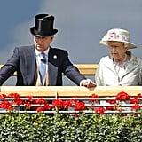 Prince Andrew and Queen Elizabeth II, 2014