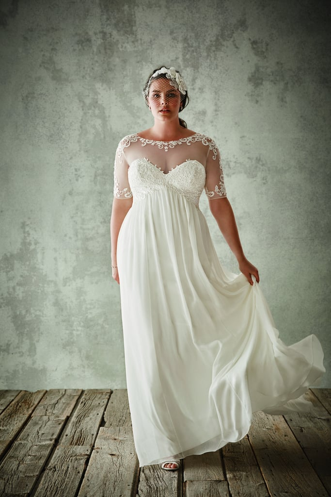 David\'s Bridal Plus-Size Wedding Dresses | POPSUGAR Fashion