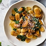 Pan-Fried Gnocchi With Pumpkin and Spinach