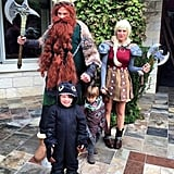 Jared Padelecki and His Family as How to Train Your Dragon Characters
