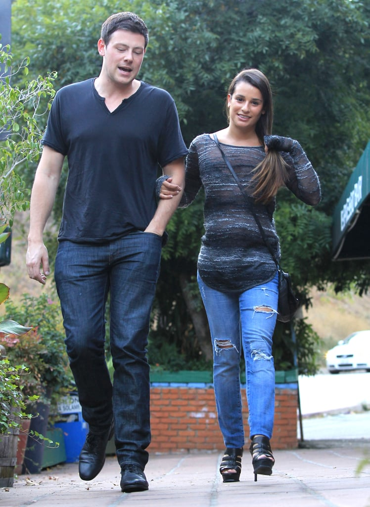 who is lea from glee dating Lea was most famously linked to glee co-star corey monteith in 2012, after months of denying their off-set romance during their teen vogue cover shoot in 2011, lea was asked how her boyfriend at the time, theo stockman.
