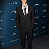 Josh kept things serious at the LACMA 2013 Art and Film Gala in November 2013.