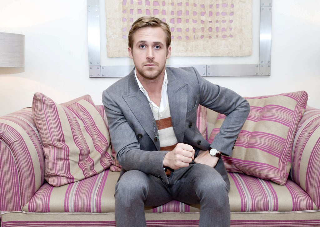 Ryan Gosling Recycles His Stripes on the Other Side of the Pond