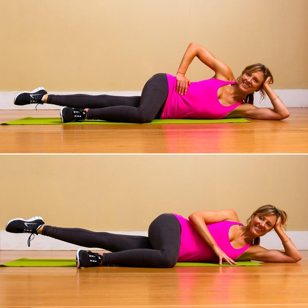 Pilates Side-Lying Leg Lifts