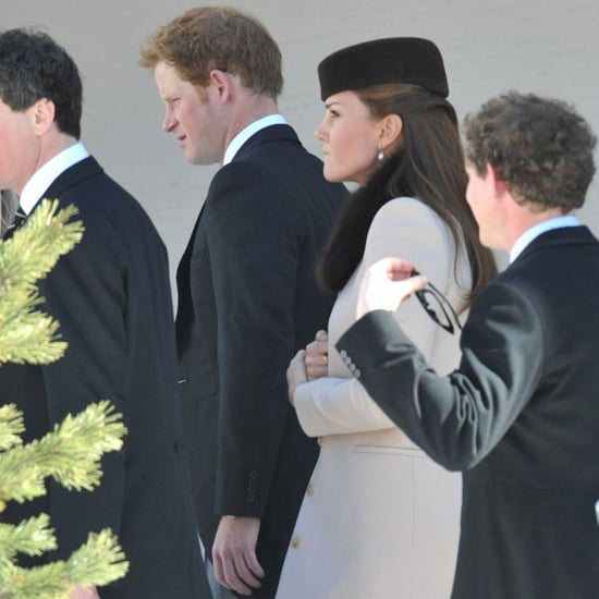 Kate Middleton, Prince William & Prince Harry At Wedding