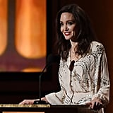 Angelina Jolie's Sequined Gown Is the Epitome of Modern Glamour