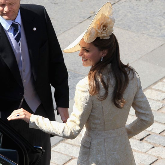 Kate Middleton and Prince William Pictures at Zara and Mike's Wedding
