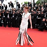 Julianne Moore Worked the Flaps on Her Louis Vuitton Dress