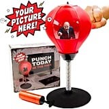 Desktop Punching Bag With Photo Insert