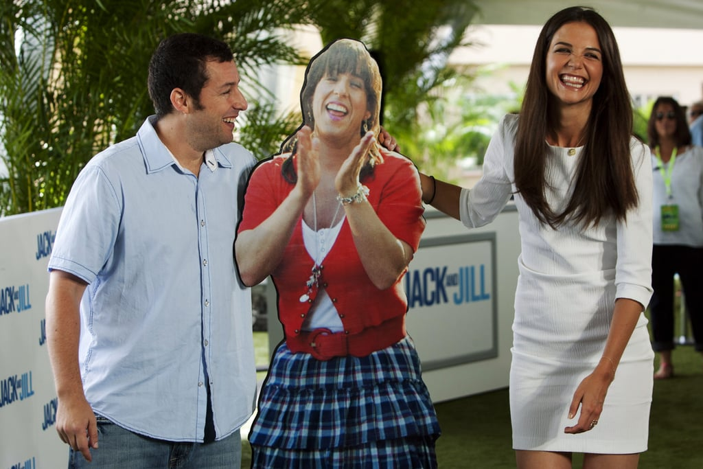 Adam Sandler and Katie Holmes in Mexico.