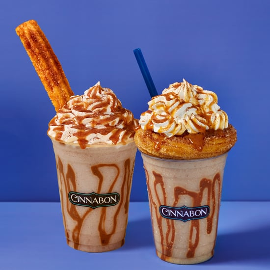 Cinnabon's Frozen Churro Chillatta Drink | Photos