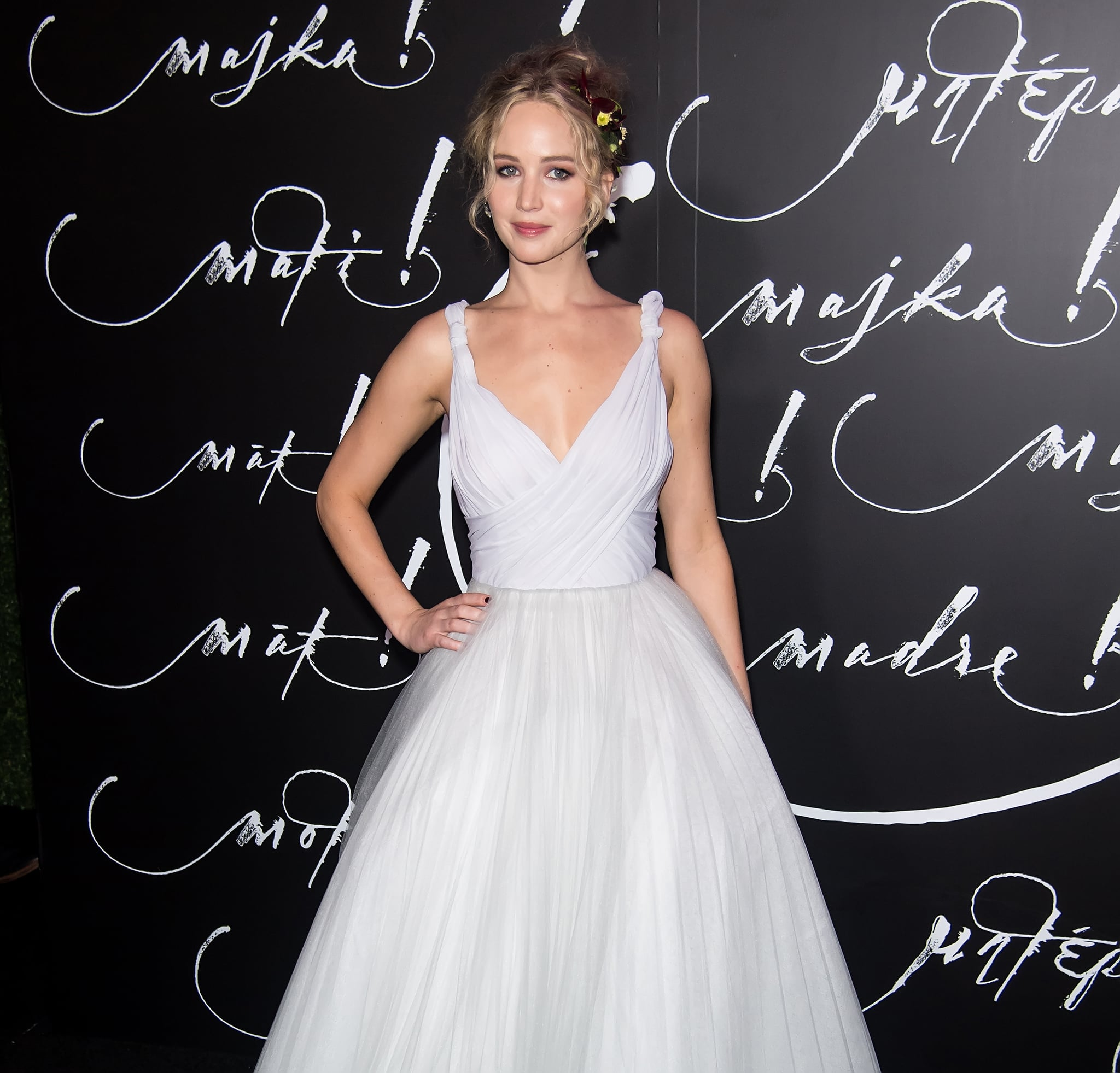What Will Jennifer Lawrence S Wedding Dress Look Like Popsugar Fashion
