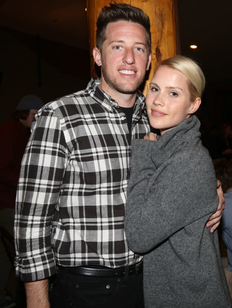 Claire Holt and Matthew Kaplan