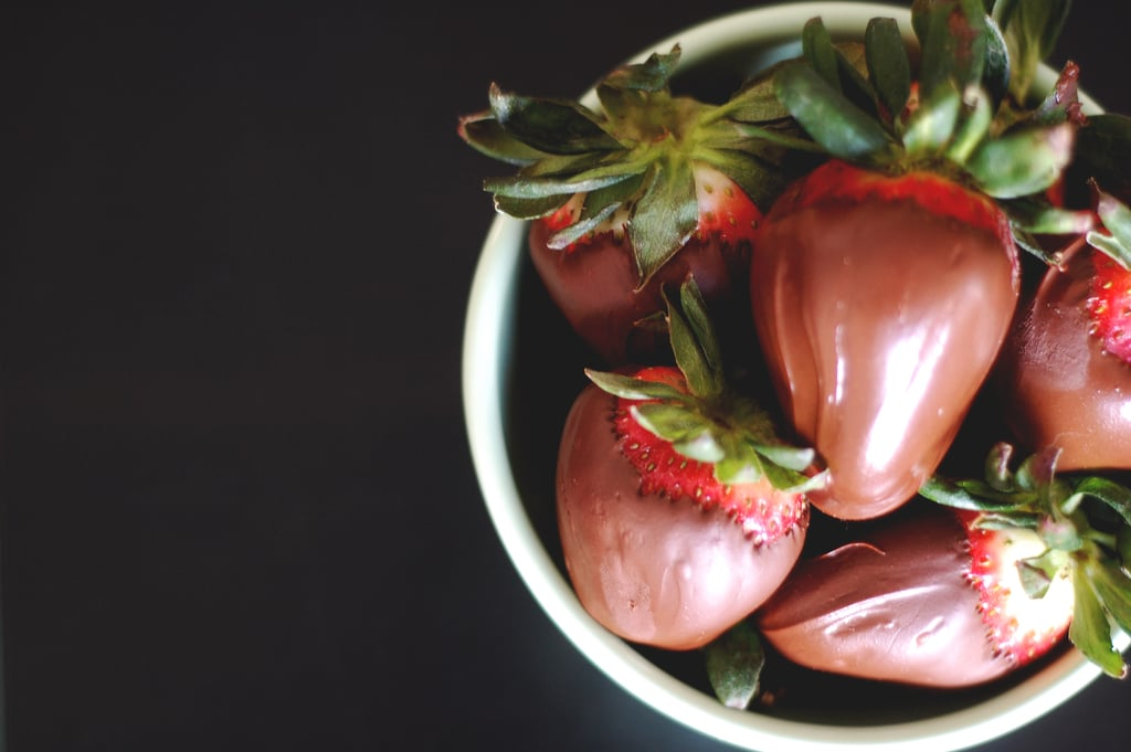 Chocolate-Covered Strawberries in No Time at All