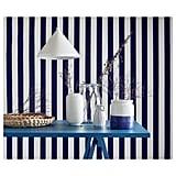 Godtagbar Ceramic White and Blue Vase