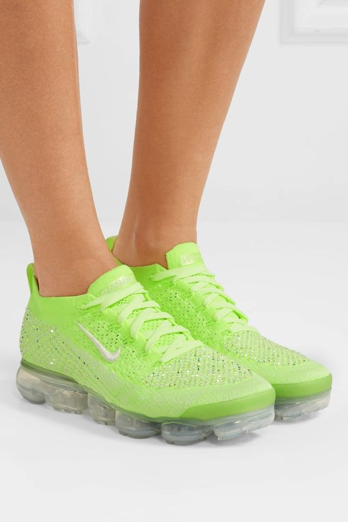 Nike Air VaporMax 2 Swarovski Crystal-Embellished Flyknit Sneakers