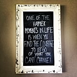 Chalkboard Weight-Loss Quotes