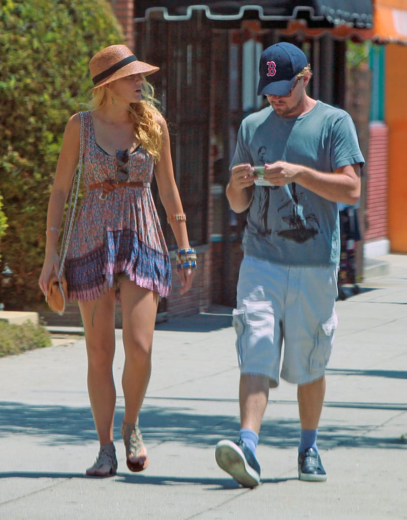 Blake Lively and Leonardo DiCaprio's day date.