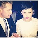 "Ginnifer Goodwin gave her best ""duck face."" Source: Instagram user ginnygoodwin"